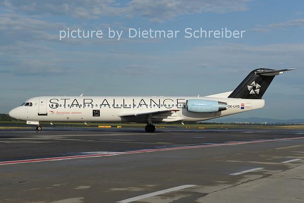 2012-07-09 OE-LVG Fokker 100 Austrian Arrows