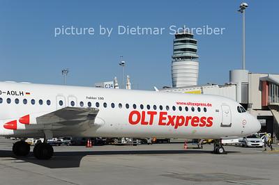 2012-10-03 D-AOLH Fokker 100 OLT Express