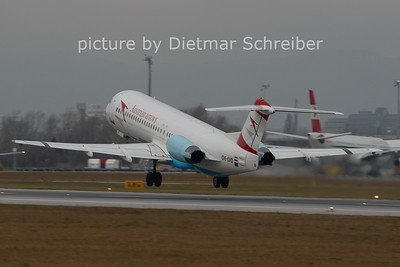 2006-12-25 OE-LVD Fokker 100 Austrian Arrows