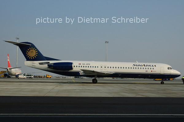 2006-01-29 9A-BTE Fokker 1000 Sunadria