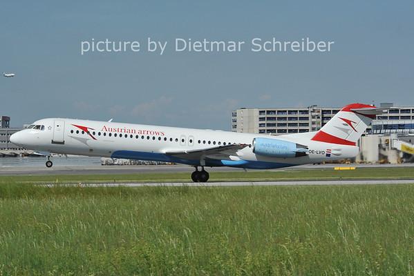 2012-05-10 OE-LVO Fokker 100 Austrian Arrows