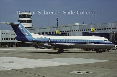 1984-06 PH-CHN Fokker F28-4000 (c/n 11176) NLM Cityhopper