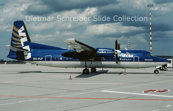 2009-07 OO-VLF Fokker F50 (c/n 20208) VLM