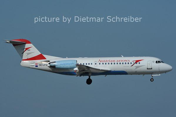 2011-06-10 OE-LFQ Fokker 70 Austrian Arrows