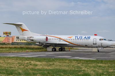 2021-07-20 5B-DDF Fokker 70 Tus AIr