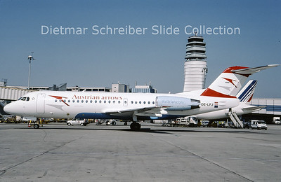 2009-04 OE-LFJ Fokker F28-0070 (Fokker 70) (c/n 11532) Austrian Arrows