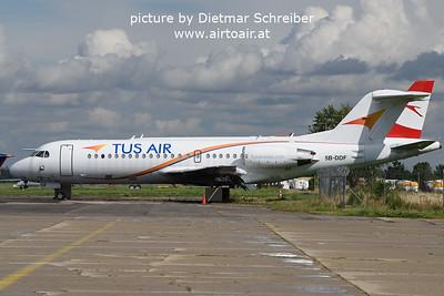 2021-08-27 5B-DDF Fokker 70 Tus AIr