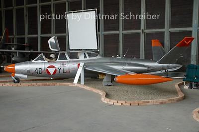 2009-08-12 4D-YL Fouga Magister Austrian Air Force
