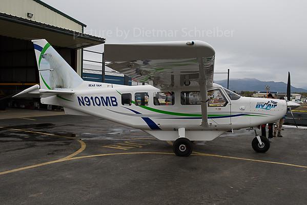 2019-09-24 N910MB GA8 Airvan Alaska by Air