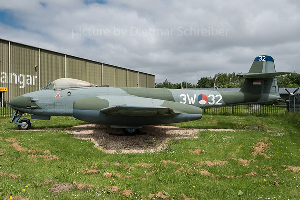 2016-05-24 3W-32 Gloster Meteor Dutch Air Force
