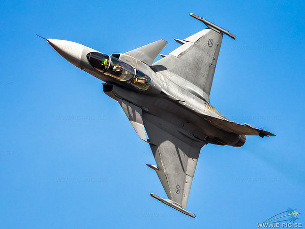 Saab JAS 39C Gripen, Swedish Air Force, S/n 39827