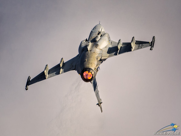 Saab JAS 39C Gripen, Swedish Air Force, S/n 39211