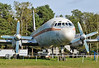 Hans Grade Museum at the historic Flugplatz Borkheide in Germany on September 9, 2012. Interflug Ilyushin Il-18V DDR-STE (cn 182005101).
