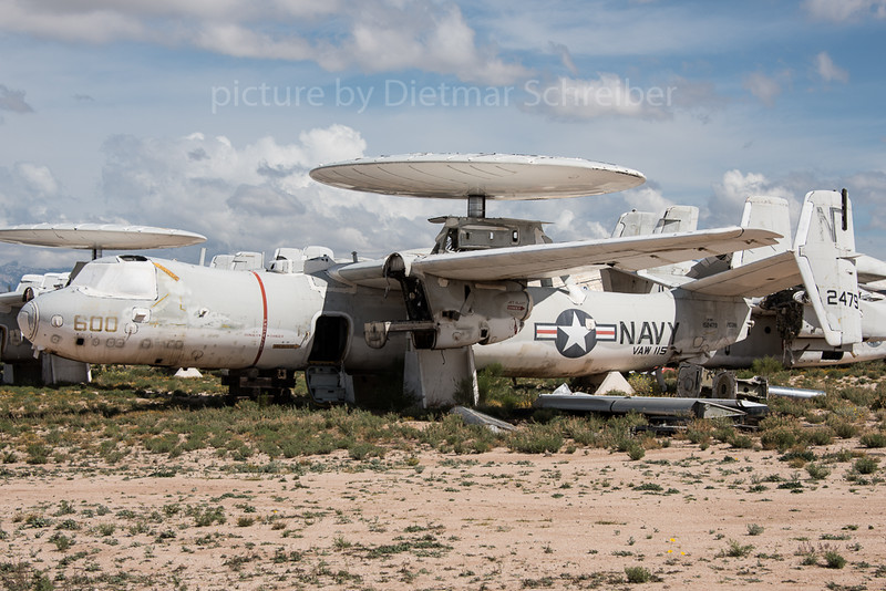 2016-03-08 152479 Grumman E-2 Hawkeye US Navy