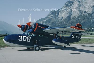 1988-10 OE-FWS Grumman G44 Widegon Aircraft Innsbruck