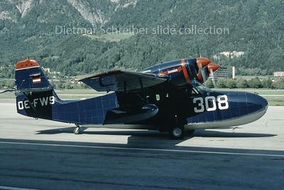 1992-10 OE-FWS Grumman G44 Widegon Aircraft Innsbruck