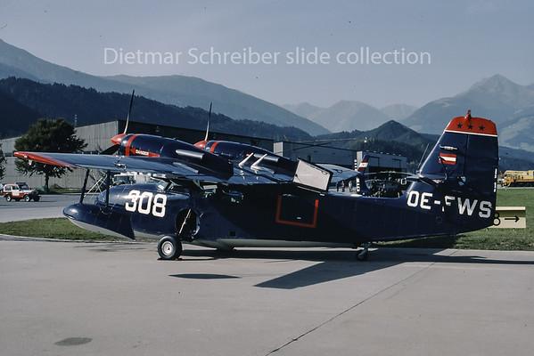 1990-10 OE-FWS Grumman G44 Widegon Aircraft Innsbruck