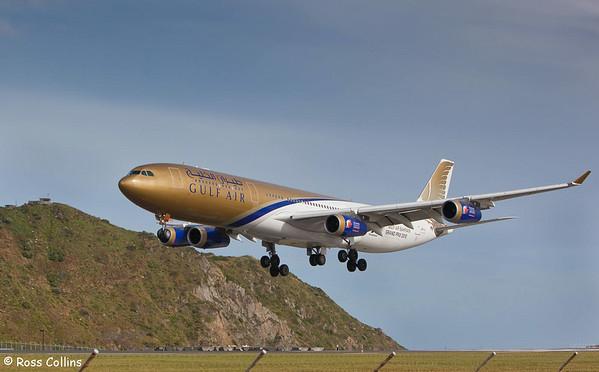 Gulf Air A340-313X 2009
