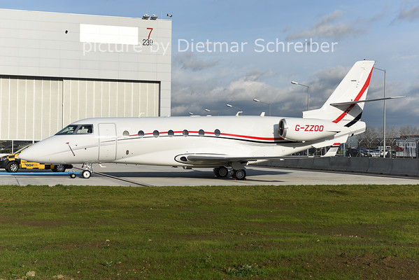 2014-12-11 G-ZZOO Gulfstream 200