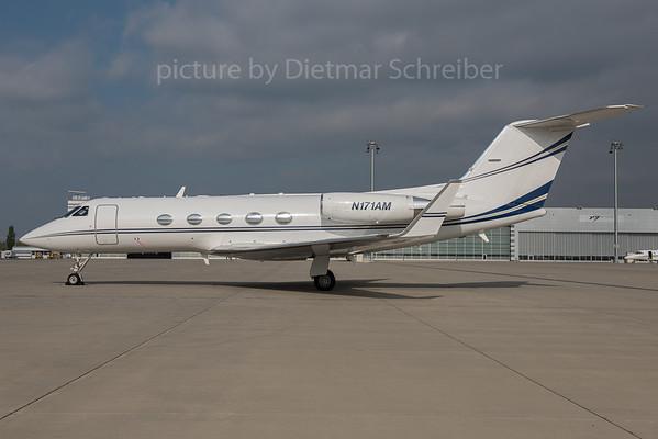 2015-10-12 N171AM Gulfstream 3