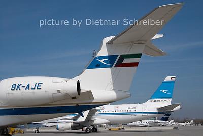 2011-03-22 9K-AJE Gulfstream 5 Kuwait Airways