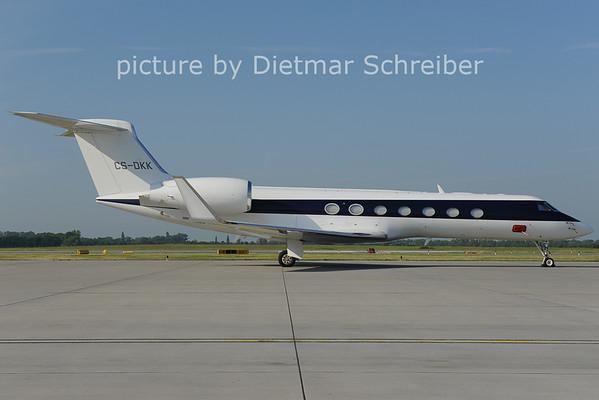2011-05-19 CS-DKK Gulfstream 5 Netjets