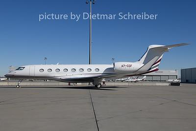 2020-03-02 A7-CGF Gulfstream 650