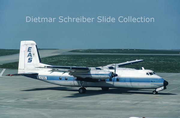 G-ATDS Handley Page HPR.7 Herald 209 (c/n 189) Europe Aero Service