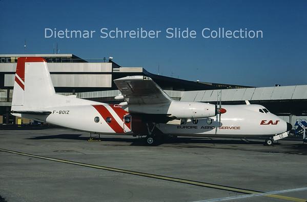 F-BOIZ Handley Page HPR.7 Herald 210 (c/n 188) Europe Aero Service
