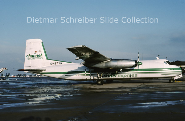 1997-01 G-STVN Handley Page HPR.7 Herald 210 (c/n 188) Channel Express