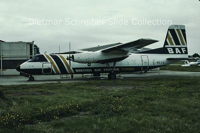 G-BEYG Handley Page HPR.7 Herald 401 (c/n 178) British Air Ferries