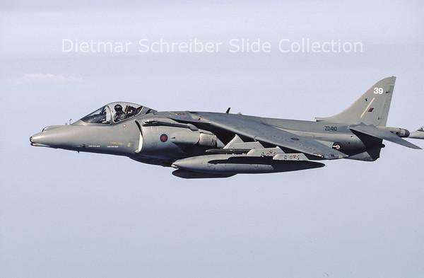 1996-05-14 ZD410 Hawker Siddeley Harrier GR9 (c/n P39) Royal Air Force