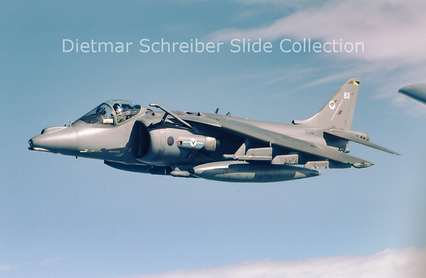 ZG512 Hawker Siddeley Harrier GR9 (c/n P83) Royal Air Force