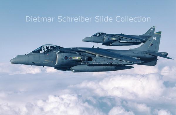 2003-09 ZD322 Hawker Siddeley Harrier GR9A (c/n P3) Royal Air Force