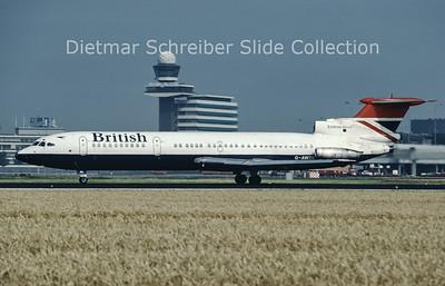 1984-08 G-AWZK Hawker Siddely Trident 3B (c/n 2312) British Airways