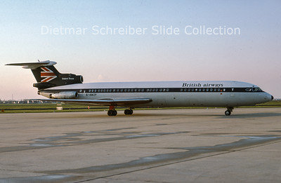 1977-05 G-AWZP Hawker Siddely Trident 3B (c/n 2317) British Airways