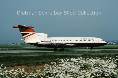 1978-07-29 G-AVFA Hawker Siddely Trident 2E (c/n 2140) British Airways