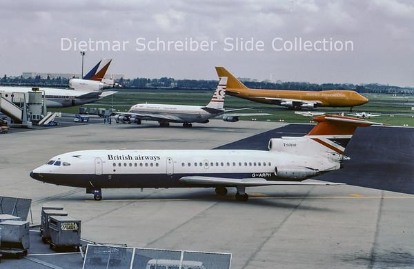 1979-07 G-ARPH Hawker Siddely Trident 1C (c/n 2108) British Airways