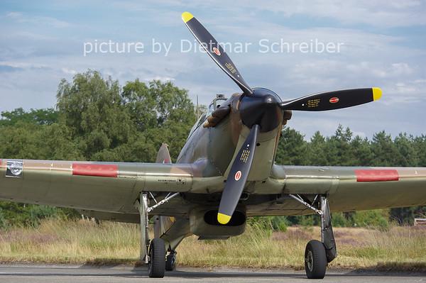 2012-08-15 G-HURY / Z5140 Hawker Hurricane