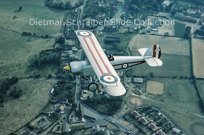 1976-07 G-AYJY Isaacs Fury II (c/n 1373)