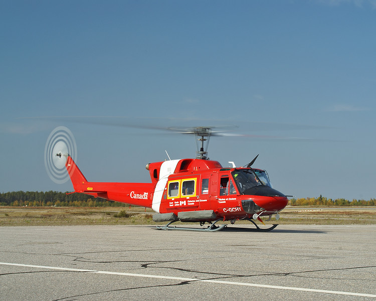 Canadian Coast Guard, Fisheries and Oceans.