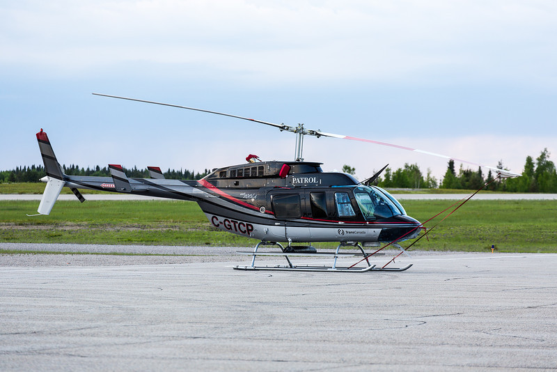 Trans Canada Pipeline's Bell 206