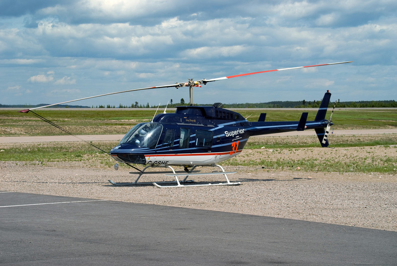 A Superior Helicopters Bell 206L-3 Long Ranger III.