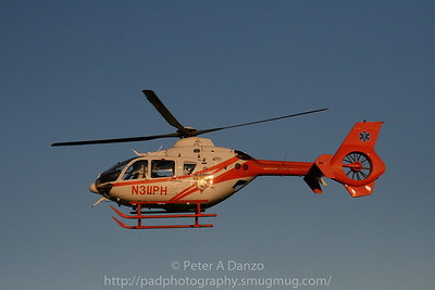 MONOC-1 Medi-vac helicopter, 2006 American Eurocopter EC135, N311PH, Bayville NJ  08-16-08