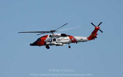 USCG Sikorsky HH-60 Jayhawk (Coast Guard version of a Blackhawk) helicopter 6036, Belmar NJ 08-29-11