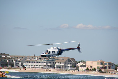 Muller Aviation Bell 206B Jet Ranger helicopter, N50178, Pt. Pleasant Beach NJ, 09-08
