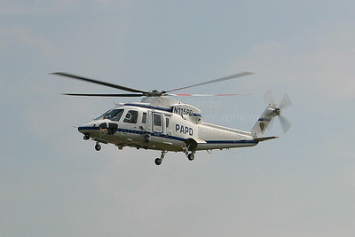 Sikorsky S-76C helicopter which was owned and operated by the Port Authority of NY/NJ police dept and later sold along with their other helicopter.
