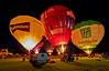 Balloon Evening Glow Event at John Hastie Park, Strathaven - 23 August 2014