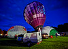 Balloon Evening Glow at John Hastie Park, Strathaven - 23 August 2014