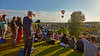 Sightseers Enjoy the Balloon Festival at Strathaven - 24 August 2014